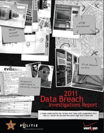 Verizon 2011: violazioni informatiche in forte crescita, in calo la perdita di dati