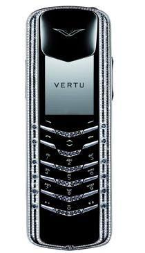 Vertu Signature Black & White Diamonds
