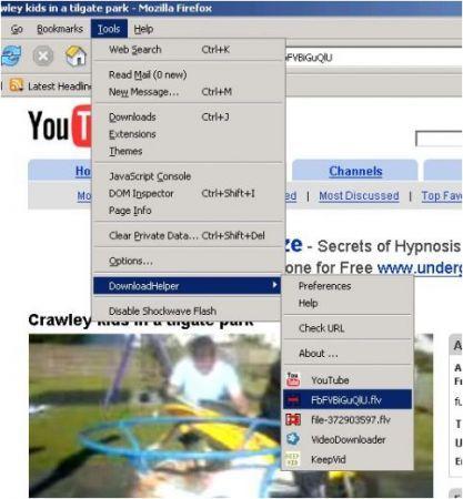 Video DownloadHelper: scaricare i filmati da Facebook e non solo