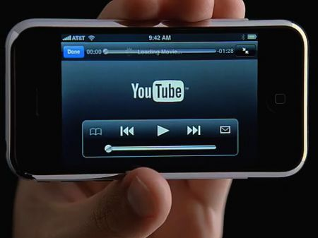 video iphone touch