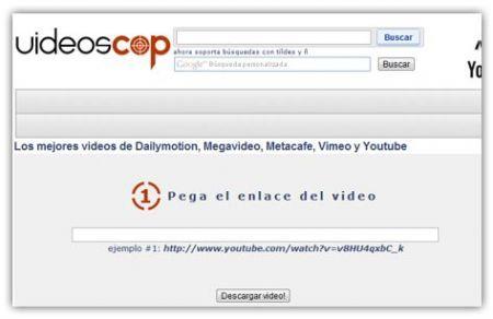 Videoscop: scaricare filmati dai principali siti di condivisione video
