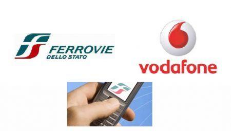 Vodafone: accordo con Trenitalia per l'acquisto di biglietti dal cellulare