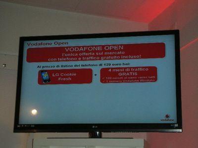 Vodafone Open: la tariffa speciale per LG Cookie Fresh