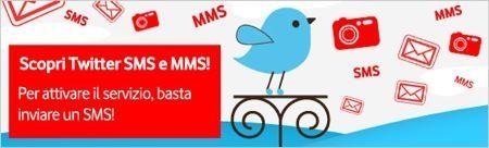 Twitter MMS, Vodafone è sempre più social