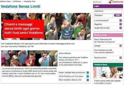 Vodafone Senza limiti