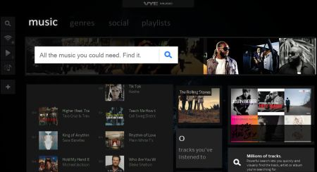Vye Music: ascoltare musica in streaming