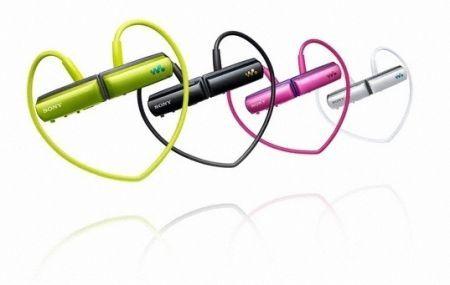 Sony NWZ-W250: lettore mp3 impermeabile per le attività sportive