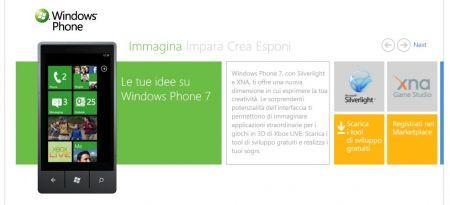 Windows Phone 7 in streaming: supporto a Facebook, Twitter e Youtube