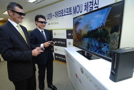Xbox 360 ed i giochi 3D grazie ad LG