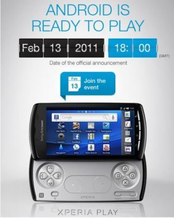 Xperia Play PSP Phone: 13 Febbraio 2011 al MWC 2011