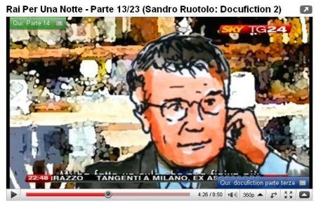 Youtube: Santoro e Rai per una Notte
