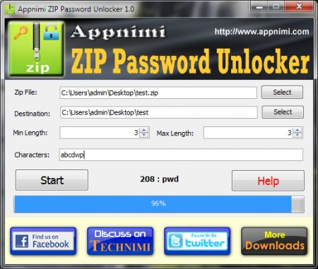 Zip password Unlocker: scoprire la password di un archivio zip