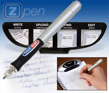 ZPen: la penna digitale che scrive su tutte le superfici