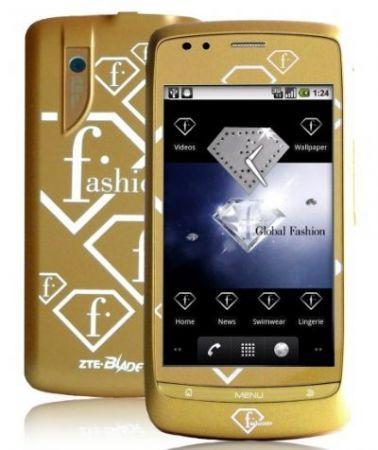 ZTE presenta il telefono fashion FTV Phone