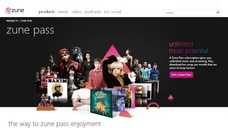 I servizi Internet Microsoft Zune arrivano in Italia