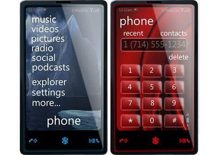 Zune Phone Microsoft con Windows Mobile 7 e Tegra al MWC 2010?
