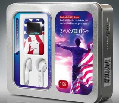 Zvue Spirit: il lettore MP3 dei patrioti
