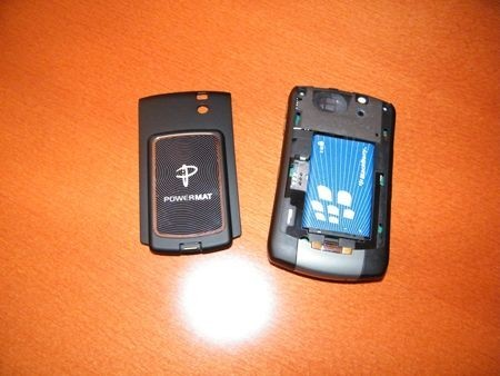 Powermat Receiver BlackBerry Curve 83xx
