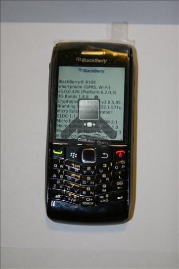Anteprima BlackBerry Pearl 9100