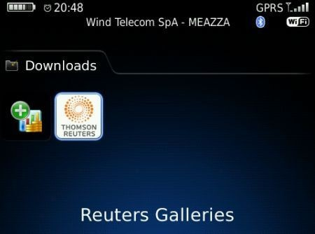 Reuters Gallery per BlackBerry