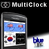 Storm Multiclock: Orologio mondiale per BlackBerry Storm