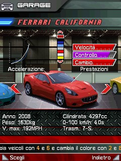 BlackBerry App World, con Ferrari GT Evolution guida una Ferrari dal tuo BlackBerry