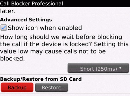 Blackberry call blocker - gps blocker Fremont