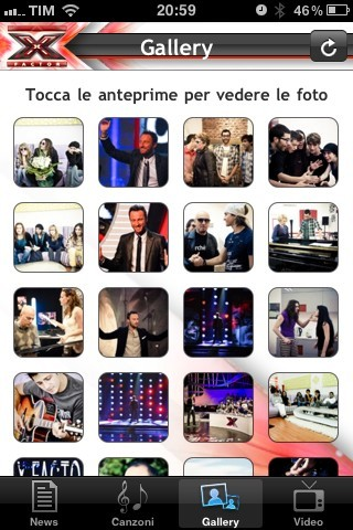 X-Factor iPhone App