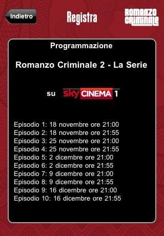 Romanzo Criminale, l'app ufficiale gratis sull'App Store