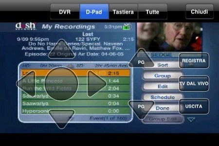 SlingPlayer e SlingBox screenshots