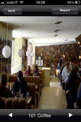 Amble with Louis Vuitton, una foto dell'interno
