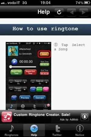 Custom Ringtone Creator Max screenshots