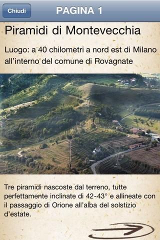 Misteri Misteriosi Italia, le Piramidi di Montevecchia