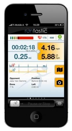 Runtastic, ottimizzato per iPhone 4