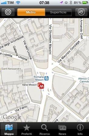 iATM Milano Mappa