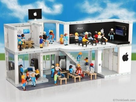 Apple Store Playmobile, panoramica