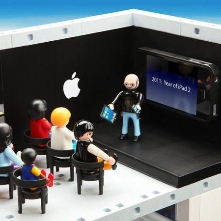 Apple Store Playmobile, Steve Jobs