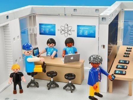 Apple Store Playmobile, il Genius Bar