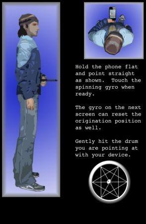 Air Drums istruzioni