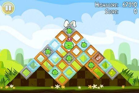 Angry Birds Seasons Pasqua, piramide pasquale