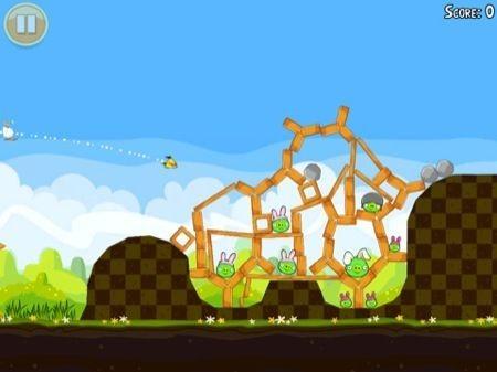 Angry Birds Seasons Pasqua, ogni resistenza � inutile