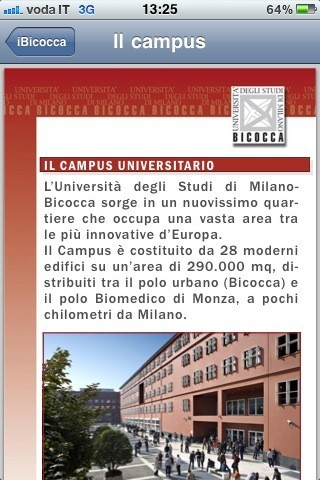 iBicocca, il campus