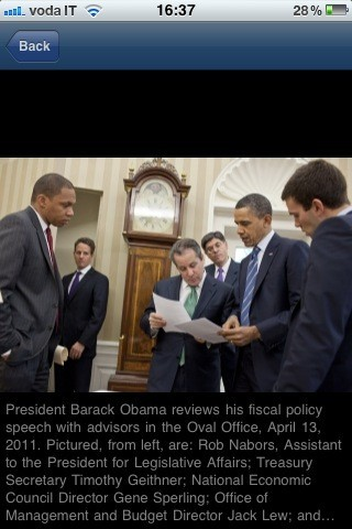 The White House, foto con descrizione