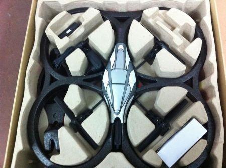 Parrot AR Drone contenuto della scatola