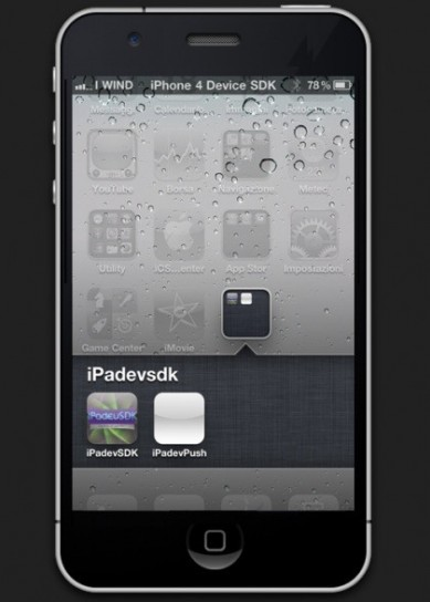 Mockup iPhone 5, con un nuovo iOS 5