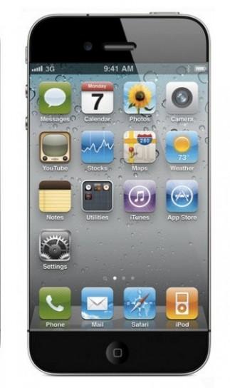 Mockup iPhone 5, schermo pi� grande