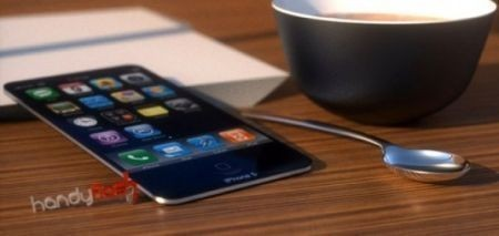 Mockup iPhone 5, leggerissimo