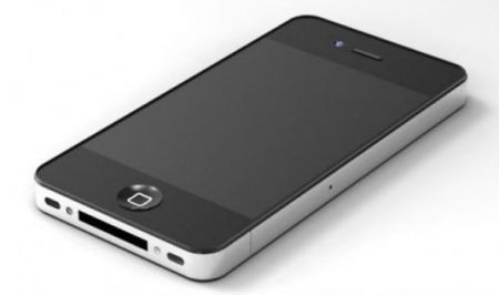 Mockup iPhone 5, simile al 4