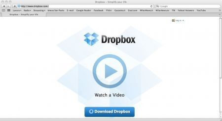 Sincronizzare iTunes, Dropbox