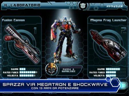 Transformers 3, due Autobot tra cui scegliere